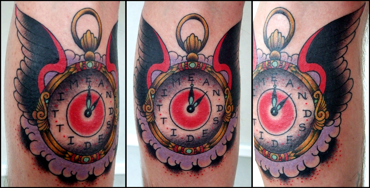 Torch Tattoo The Laughing Hyena